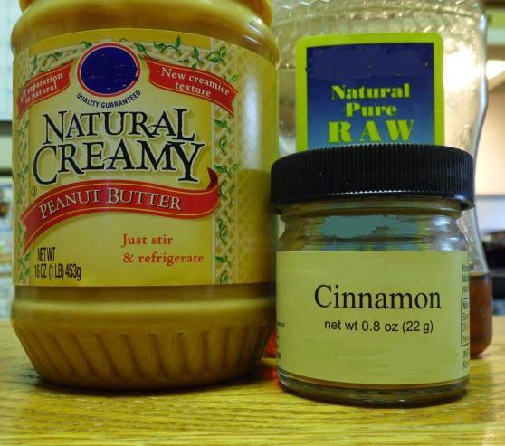 Brand doesn't matter (hence my top-notch editing), but I absolutely recommend going with a no-sugar-added, all natural peanut butter and a local raw honey.